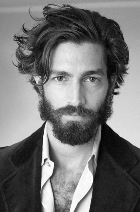 Guys Classic Flow Hairstyle Look
