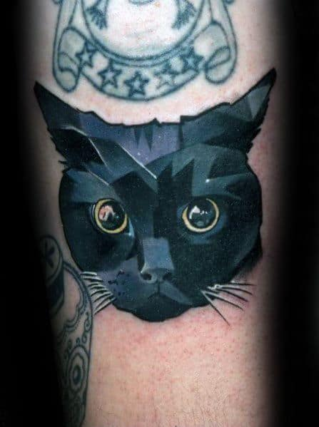 Guys Cool Cat Tattoo Ideas