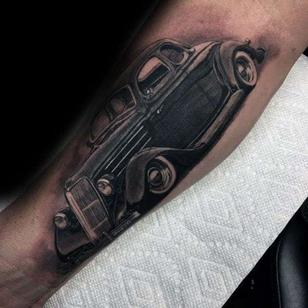 Guys Cool Ford Tattoo Ideas