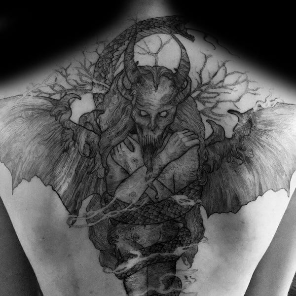 Guys Cool Gothic Tattoo Ideas