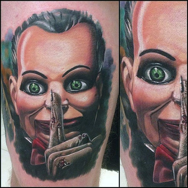 Guys Cool Horror Movie Tattoo Ideas