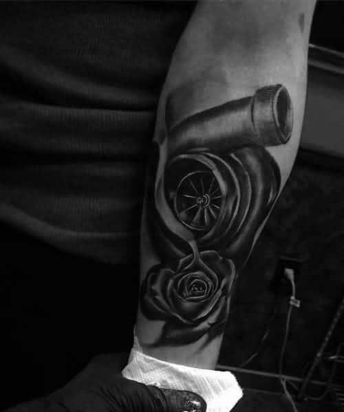 Guys Cool Turbo Tattoo Ideas