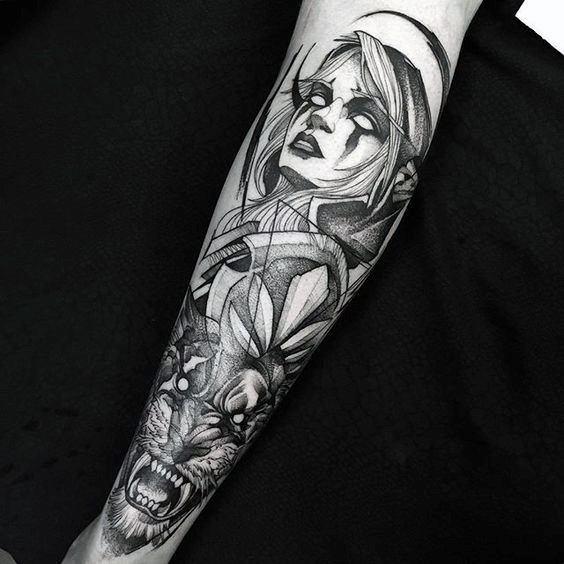 Guys Cool World Of Warcraft Tattoo Ideas