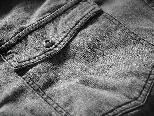Guys Dakota Grizzly Ryder Shirt Top Button Pocket