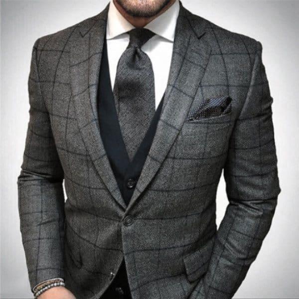 Guys Dapper Style Grey Suit Ideas