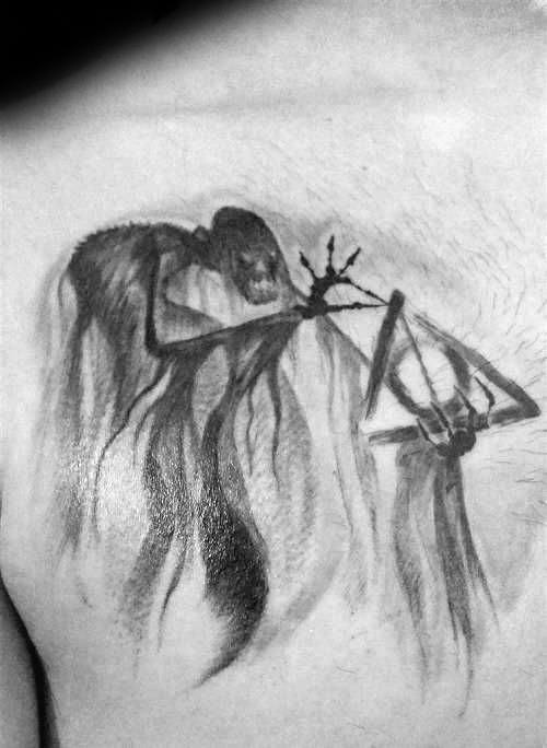 Guys Dementor Tattoos