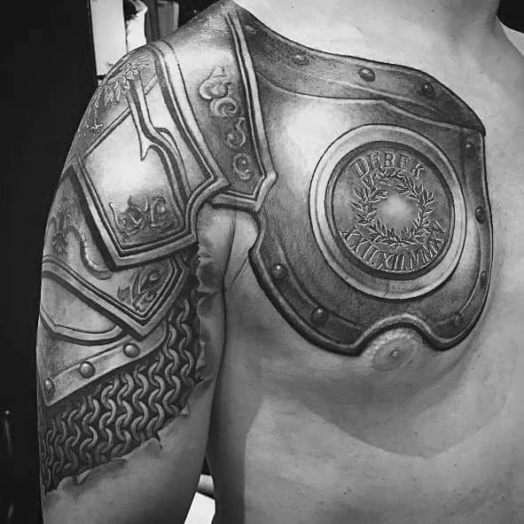 Tattoo Chest Plate: Giant Ink Design Ideas