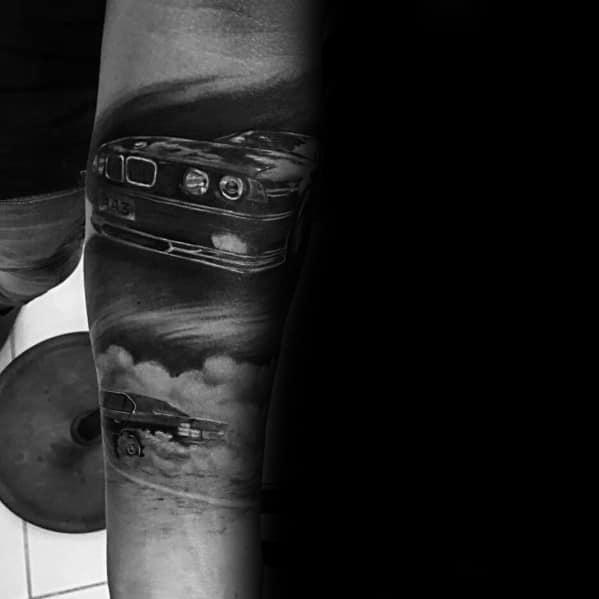 Guys Design Ideas Bmw Tattoos Forearm