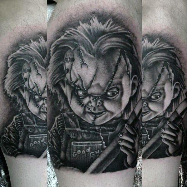 Guys Design Ideas Horror Movie Tattoos