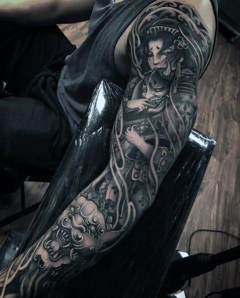 Guys Designs Big Tattoos