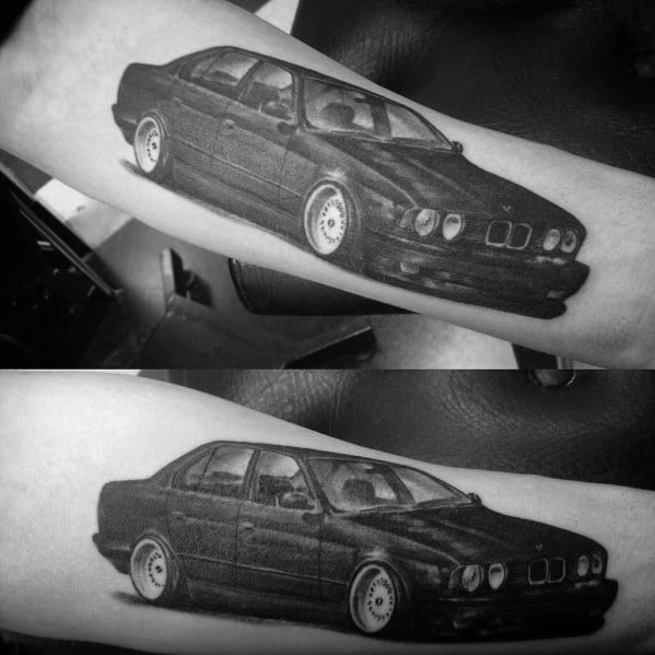 Guys Designs Bmw Tattoos