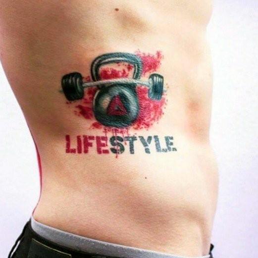 Guys Designs Crossfit Tattoos