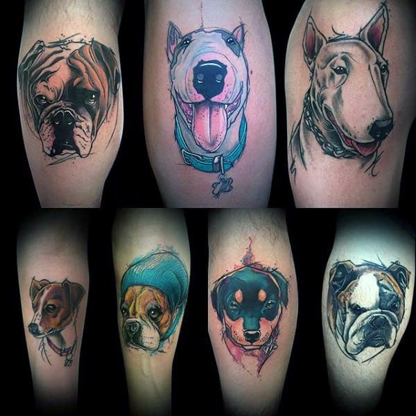 Creative Canine Ink Design Ideas