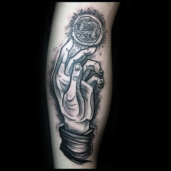 Guys Esoteric Tattoos