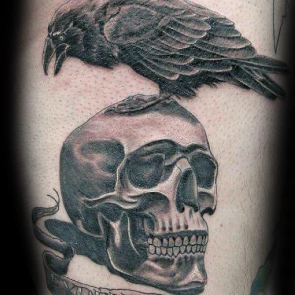 Guys Expendables Logo Arm Tattoos