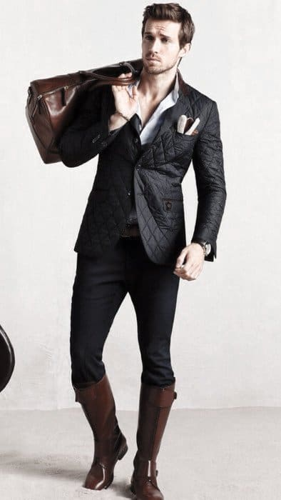 Guys Fashion Ideas How To Wear Boots Outfits Styles