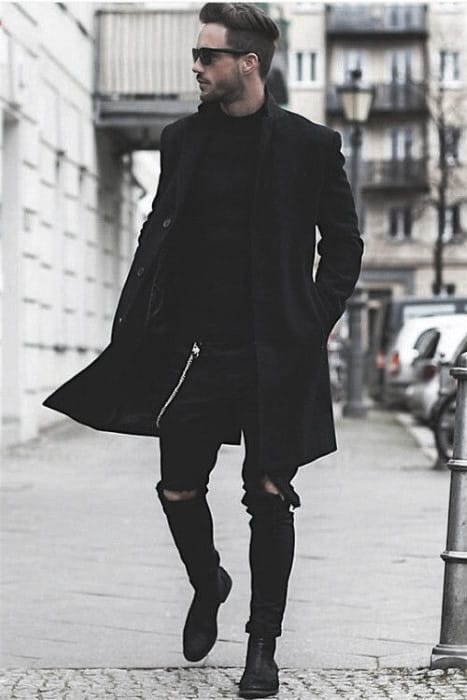Guys Fashion Ideas What To Wear With Black Jeans Outfits Styles