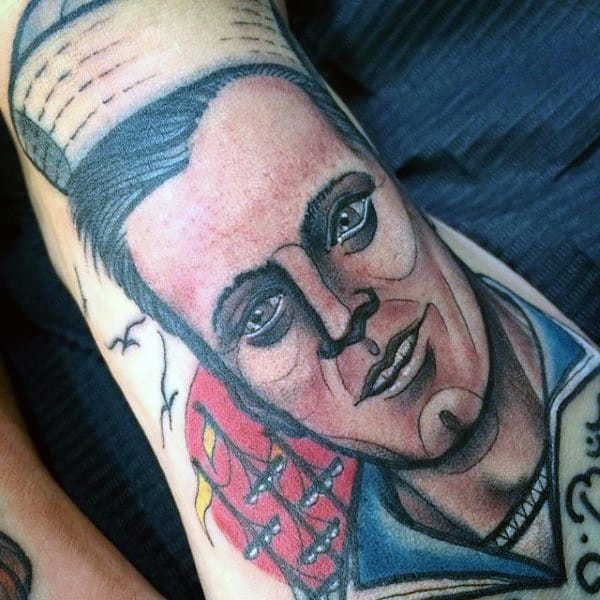 Guys Forearms Dads Portrait Tattoo