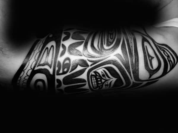 Guys Forearms Haida Tattoo