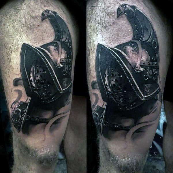 Guys Forearms Manly Viking Armour Tattoo