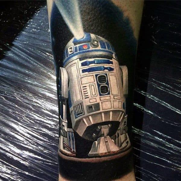 Guys Forearms Nice Star Wars Tattoo