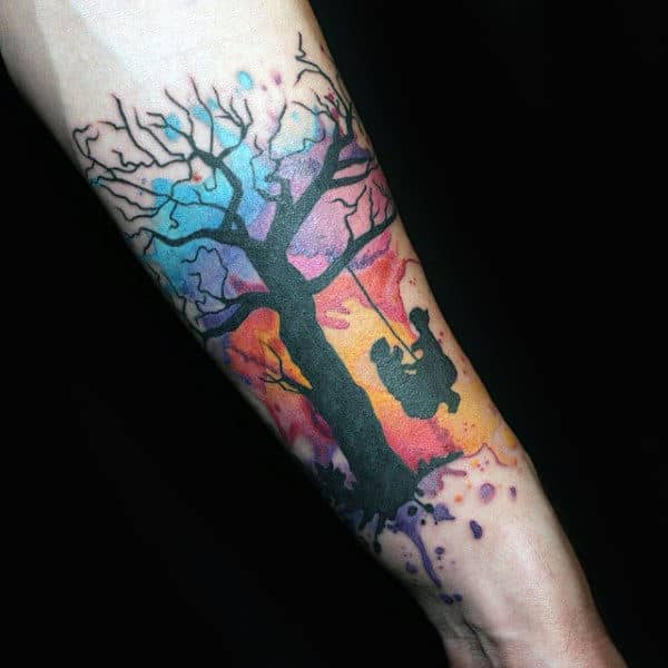Motor neuron tattoo