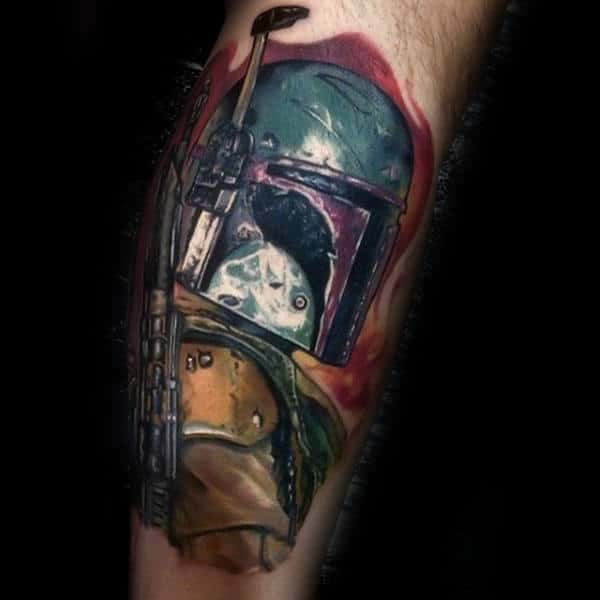 Guys Forearms Starwars Tattoo