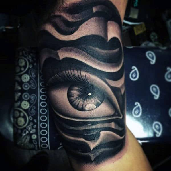 73cd0a962c263 Top 100 Eye Tattoo Designs For Men - A Complex Look Closer