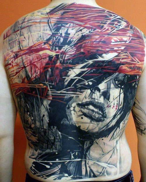 120 Full Back Tattoos For Men