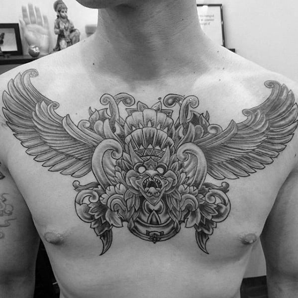 Guys Garuda Tattoo Design Ideas