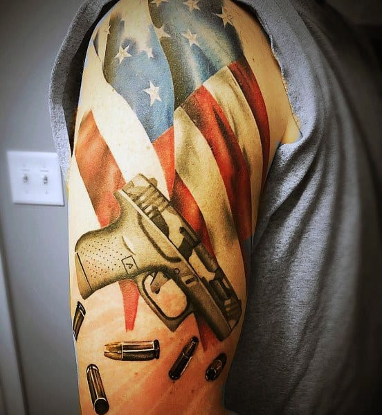 45 Japanese Tattoos With A Culture Of Their Own: 60 Glock Tattoo Ideas For Men