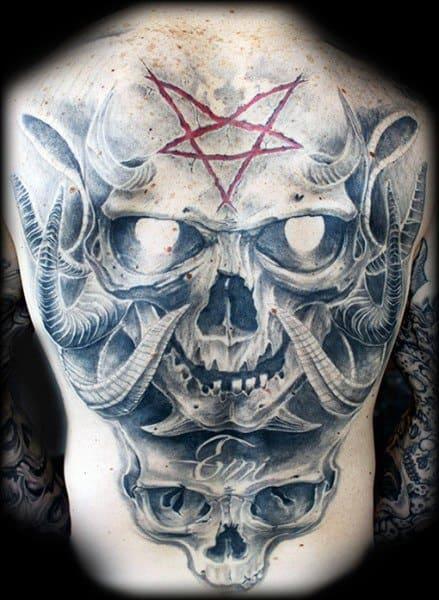 Guys Gothic Tattoos