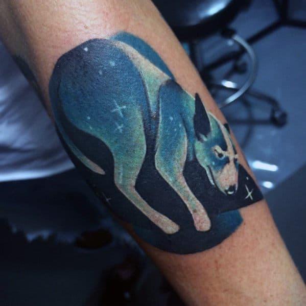 Guys Gradient Tattoo Designs