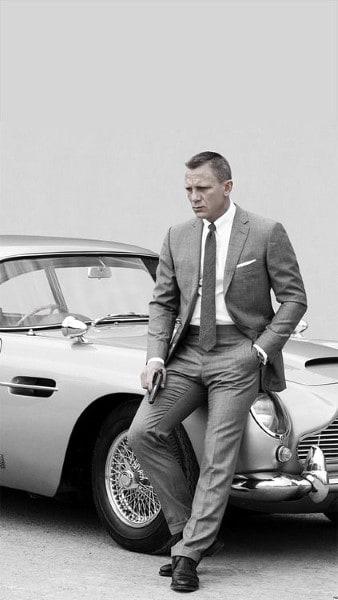 Guys Grey Suit Style Fashion Inspiration