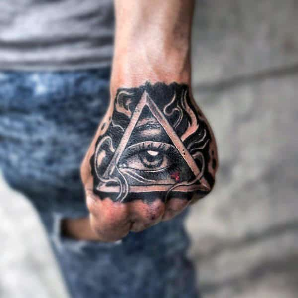 50 Traditional Diamond Tattoo Designs For Men – Jewel Ink Ideas
