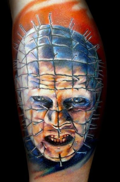 Guys Hellraiser Tattoo Design Ideas
