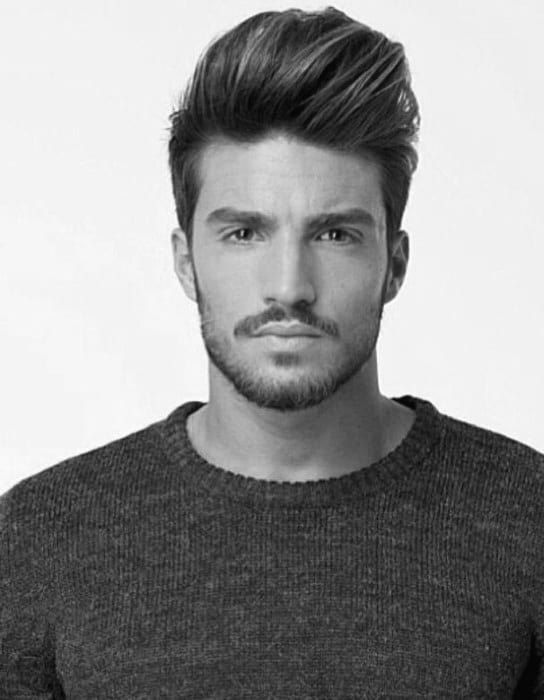 Excellent Quiff Haircut For Men 40 Manly Voluminous Hairstyles Short Hairstyles For Black Women Fulllsitofus