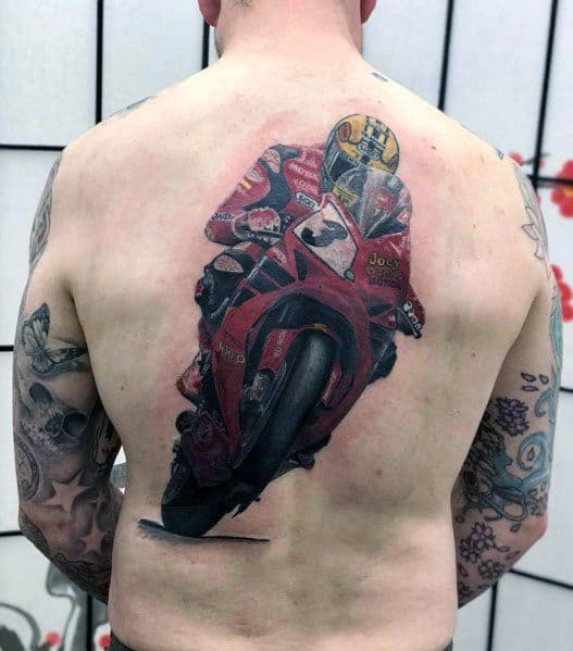 Guys Honda Tattoo Design Ideas