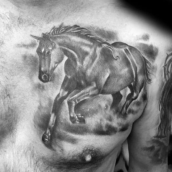Guys Horse Tattoos