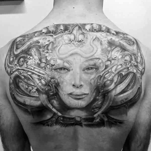 Guys Hr Giger Tattoos