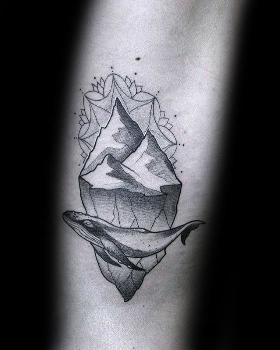 Guys Iceberg Tattoos