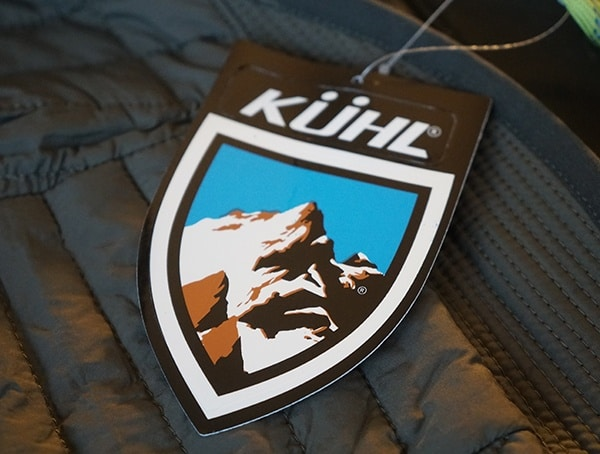 Guys Kuhl Wildkard Hybrid Jacket Sticker Tag