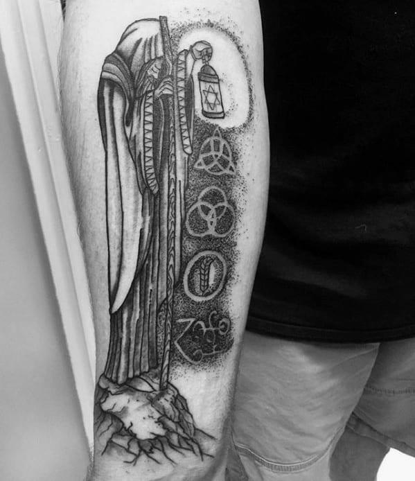 Guys Led Zeppelin Tattoo Designs
