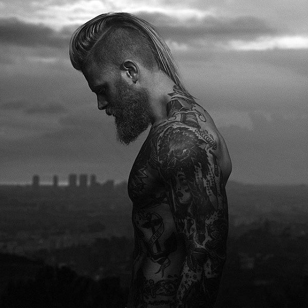 Guys Long Undercut Hair Inspiration