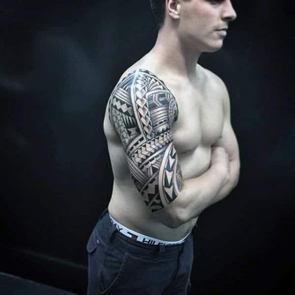 Maori Half Sleeve Tattoo: Top 93 Maori Tattoo Ideas [2020 Inspiration Guide]