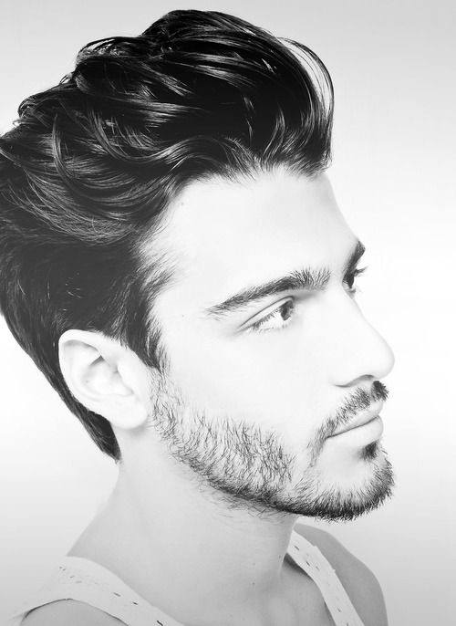 Guys Medium Hairstyle Quiff