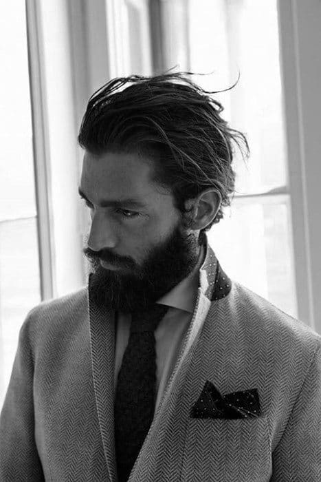 Guys Neat Flow Hairstyle Look