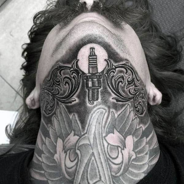 70 Spark Plug Tattoo Designs For Men