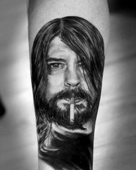 Guys Nirvana Tattoo Design Ideas