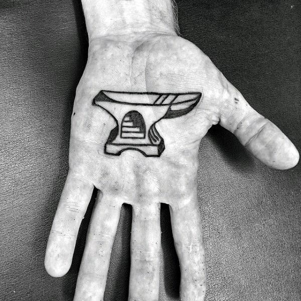 Guys Palms Unique Tattoo